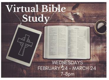 Lenten Virtual Bible Study with Fr. Deziel