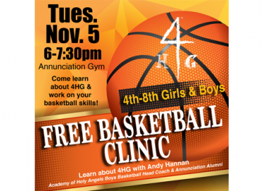 FREE 4HG Basketball Clinic