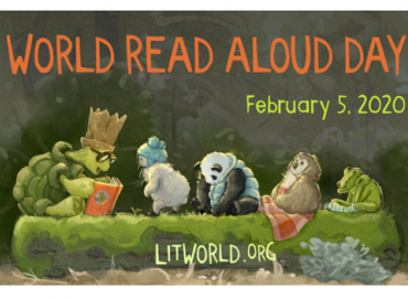 World Read Aloud Day at Annunciation School
