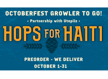 Hops for Haiti! Growler To Go Fundraiser!