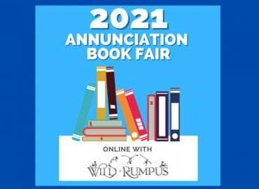 Annunciation Book Fair with Wild Rumps Week of January 25 – January 30th