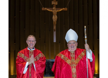 Pastor Installation with Archbishop Hebda
