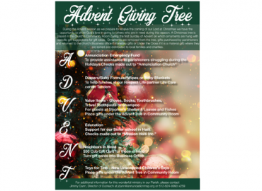 Advent Tree Giving