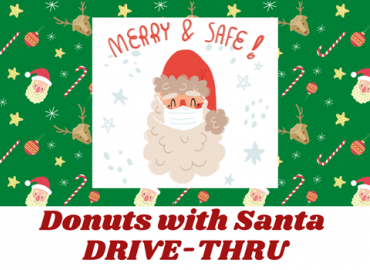 Donuts with Santa DRIVE-THRU